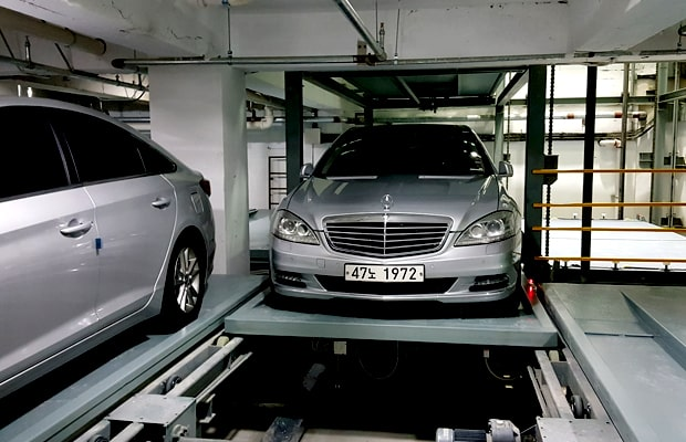 Cross Type automated car parking systems