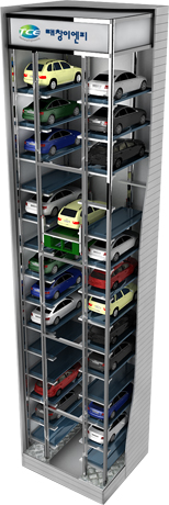 Elevator type car parking systems
