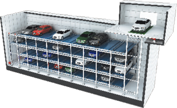 Universal type car parking systems