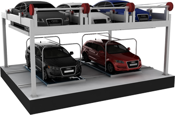 Puzzle type car parking systems
