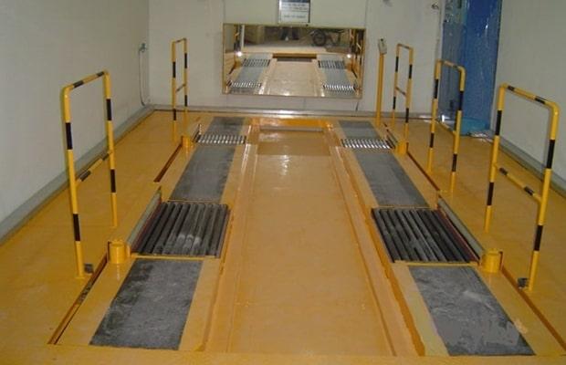 승강기 슬라이드식 자동주차설비